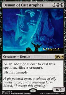Promotional: Demon of Catastrophes (Prerelease Foil)