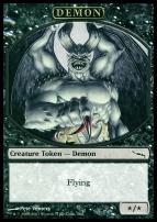 Promotional: Demon Token (Mirrodin)