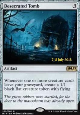 Promotional: Desecrated Tomb (Prerelease Foil)