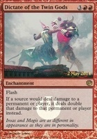 Promotional: Dictate of the Twin Gods (Launch Promo Foil)