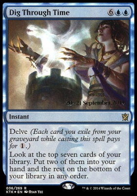 Promotional: Dig Through Time (Prerelease Foil)