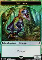 Promotional: Dinosaur Token - Treasure Token (FNM Foil)