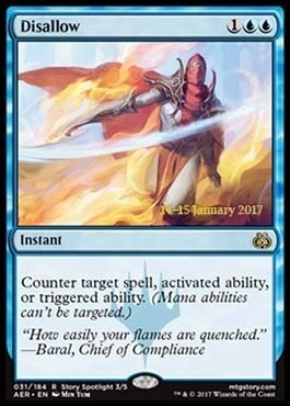 Promotional: Disallow (Prerelease Foil)