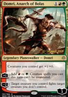 Promotional: Domri, Anarch of Bolas (Prerelease Foil)