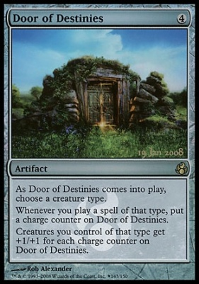 Promotional: Door of Destinies (Prerelease Foil)