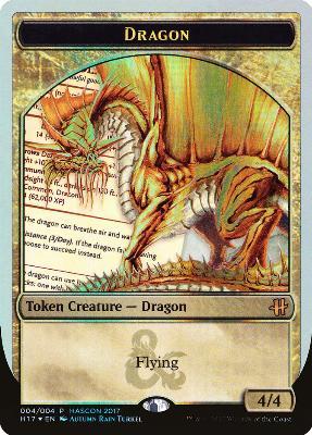 Promotional: Dragon Token (Hascon Promo Foil)