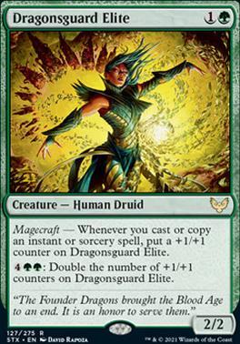 Promotional: Dragonsguard Elite (Prerelease Foil)
