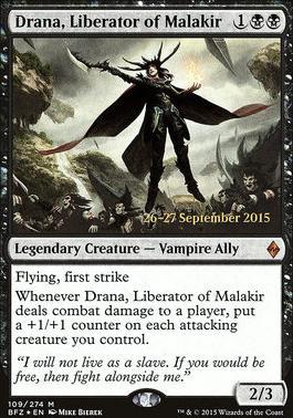 Promotional: Drana, Liberator of Malakir (Prerelease Foil)