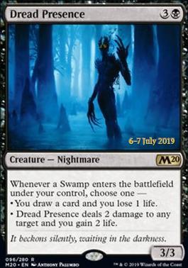 Promotional: Dread Presence (Prerelease Foil)