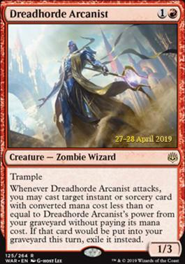 Promotional: Dreadhorde Arcanist (Prerelease Foil)