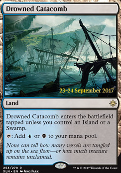 Promotional: Drowned Catacomb (Prerelease Foil)