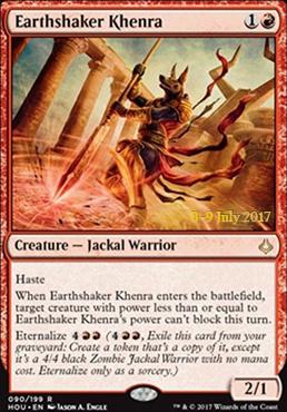 Promotional: Earthshaker Khenra (Prerelease Foil)