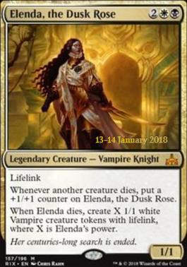 Promotional: Elenda, the Dusk Rose (Prerelease Foil)