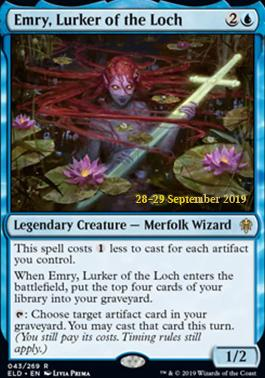 Promotional: Emry, Lurker of the Loch (Prerelease Foil)