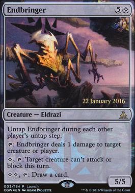 Promotional: Endbringer (Launch Foil)