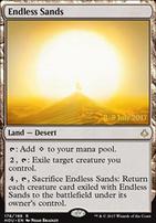 Promotional: Endless Sands (Prerelease Foil)