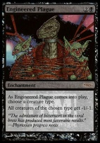 Promotional: Engineered Plague (FNM Foil)
