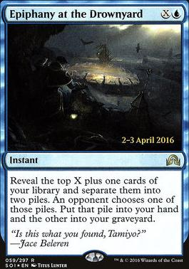 Promotional: Epiphany at the Drownyard (Prerelease Foil)