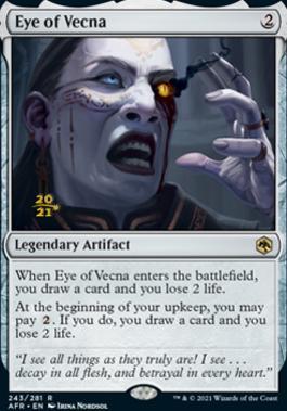 Promotional: Eye of Vecna (Prerelease Foil)