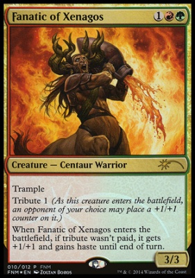 Promotional: Fanatic of Xenagos (FNM Foil)