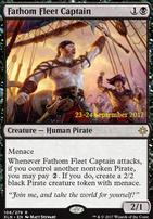 Promotional: Fathom Fleet Captain (Prerelease Foil)