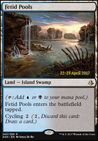 Promotional: Fetid Pools (Prerelease Foil)