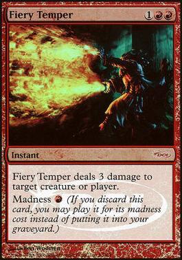 Foil Torment MTG Violent Eruption NM