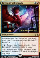 Promotional: Firemind's Research (Prerelease Foil)