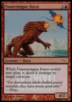 Promotional: Flametongue Kavu (FNM Foil)