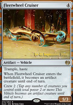 Promotional: Fleetwheel Cruiser (Prerelease Foil)
