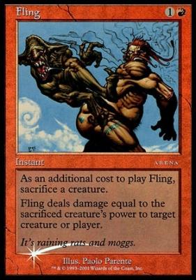Promotional: Fling (Arena Foil)