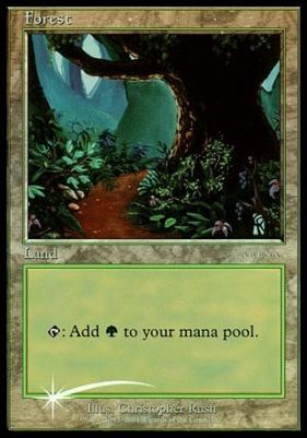 Promotional: Forest (Arena 2001 Foil - Beta)