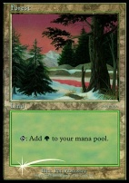 Promotional: Forest (Arena 2001 Foil - Ice Age)