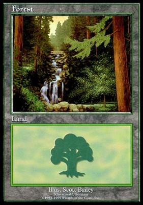 Promotional: Forest (Euro Set Blue)