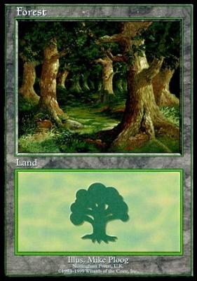 Promotional: Forest (Euro Set Purple)