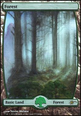 Promotional: Forest (Full-art Judge Foil)