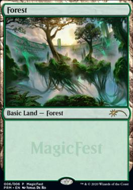Promotional: Forest (MagicFest Foil - 2020)