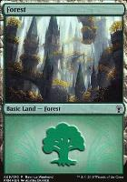 Promotional: Forest (Ravnica Weekend - A09 Foil)