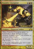 Promotional: Foundry Champion (Prerelease Foil)