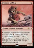 Promotional: Frenzied Goblin (FNM Foil)