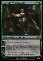Promotional: Garruk Wildspeaker (Duels of the Planeswalkers Foil)