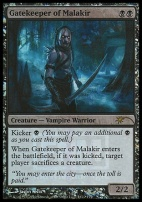 Promotional: Gatekeeper of Malakir (FNM Foil)