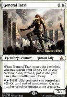 Promotional: General Tazri (Prerelease Foil)