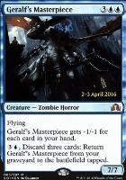 Promotional: Geralf's Masterpiece (Prerelease Foil)