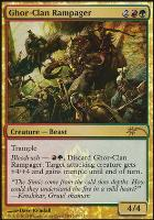 Promotional: Ghor-Clan Rampager (FNM Foil)