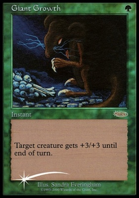 Promotional: Giant Growth (FNM Foil)