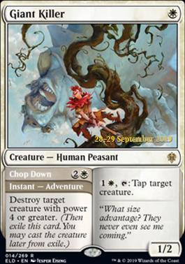 R Giant Killer Showcase MTG Magic - NM//M Throne of Eldraine