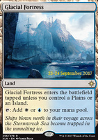 Promotional: Glacial Fortress (Prerelease Foil)