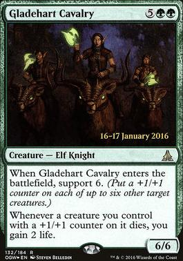 Promotional: Gladehart Cavalry (Prerelease Foil)
