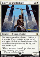 Promotional: Glory-Bound Initiate (Prerelease Foil)